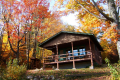 Cabin 2 during the fall