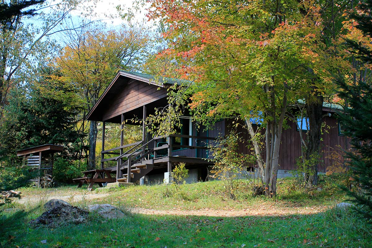 Cabin 4 during the fall