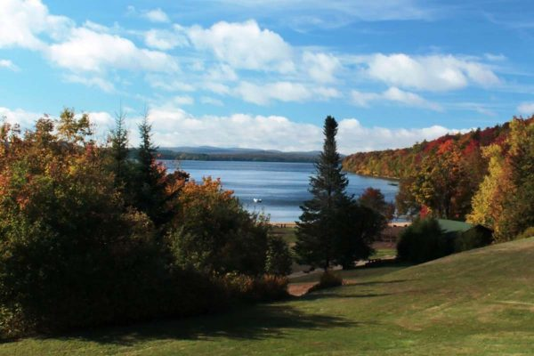 Lake view during the fall