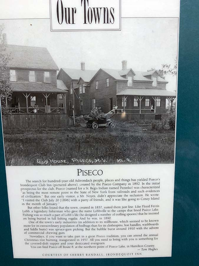 Our towns - Piseco